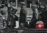 Image of Wounded US Army soldiers disembark from a steamer New York City Harbor USA, 1919, second 40 stock footage video 65675022382