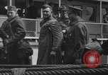 Image of Wounded US Army soldiers disembark from a steamer New York City Harbor USA, 1919, second 46 stock footage video 65675022382