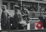 Image of Wounded US Army soldiers disembark from a steamer New York City Harbor USA, 1919, second 49 stock footage video 65675022382