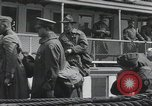 Image of Wounded US Army soldiers disembark from a steamer New York City Harbor USA, 1919, second 50 stock footage video 65675022382