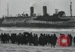 Image of Northern Pacific aground at Fire Island Fire Island New York USA, 1919, second 17 stock footage video 65675022383