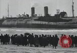 Image of Northern Pacific aground at Fire Island Fire Island New York USA, 1919, second 19 stock footage video 65675022383