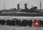 Image of Northern Pacific aground at Fire Island Fire Island New York USA, 1919, second 20 stock footage video 65675022383