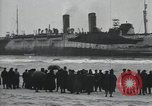 Image of Northern Pacific aground at Fire Island Fire Island New York USA, 1919, second 21 stock footage video 65675022383