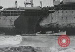 Image of Northern Pacific aground at Fire Island Fire Island New York USA, 1919, second 54 stock footage video 65675022383
