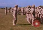 Image of Members of the 5th Division of USMC Camp Pendleton California USA, 1967, second 27 stock footage video 65675022396