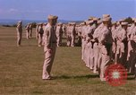 Image of Members of the 5th Division of USMC Camp Pendleton California USA, 1967, second 28 stock footage video 65675022396