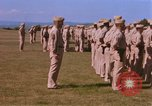 Image of Members of the 5th Division of USMC Camp Pendleton California USA, 1967, second 29 stock footage video 65675022396