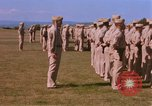 Image of Members of the 5th Division of USMC Camp Pendleton California USA, 1967, second 30 stock footage video 65675022396
