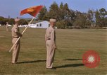 Image of Major General Kyle and General Sawyer Camp Pendleton California USA, 1967, second 2 stock footage video 65675022397