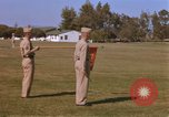 Image of Major General Kyle and General Sawyer Camp Pendleton California USA, 1967, second 5 stock footage video 65675022397