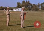 Image of Major General Kyle and General Sawyer Camp Pendleton California USA, 1967, second 6 stock footage video 65675022397