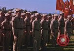 Image of Major General Kyle and General Sawyer Camp Pendleton California USA, 1967, second 44 stock footage video 65675022397