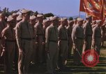 Image of Major General Kyle and General Sawyer Camp Pendleton California USA, 1967, second 46 stock footage video 65675022397