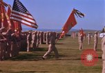 Image of Major General Kyle and General Sawyer Camp Pendleton California USA, 1967, second 48 stock footage video 65675022397