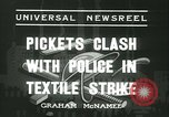 Image of Labor strike workers clash with police Wyomissing Pennsylvania USA, 1936, second 2 stock footage video 65675022415