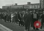 Image of Labor strike workers clash with police Wyomissing Pennsylvania USA, 1936, second 12 stock footage video 65675022415
