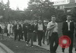 Image of Labor strike workers clash with police Wyomissing Pennsylvania USA, 1936, second 19 stock footage video 65675022415