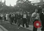 Image of Labor strike workers clash with police Wyomissing Pennsylvania USA, 1936, second 20 stock footage video 65675022415