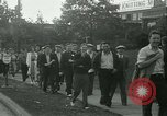 Image of Labor strike workers clash with police Wyomissing Pennsylvania USA, 1936, second 21 stock footage video 65675022415