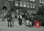 Image of Labor strike workers clash with police Wyomissing Pennsylvania USA, 1936, second 22 stock footage video 65675022415