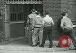 Image of Labor strike workers clash with police Wyomissing Pennsylvania USA, 1936, second 25 stock footage video 65675022415