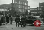 Image of Labor strike workers clash with police Wyomissing Pennsylvania USA, 1936, second 28 stock footage video 65675022415