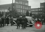 Image of Labor strike workers clash with police Wyomissing Pennsylvania USA, 1936, second 29 stock footage video 65675022415