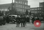 Image of Labor strike workers clash with police Wyomissing Pennsylvania USA, 1936, second 30 stock footage video 65675022415