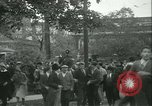 Image of Labor strike workers clash with police Wyomissing Pennsylvania USA, 1936, second 31 stock footage video 65675022415