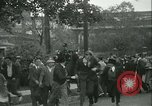Image of Labor strike workers clash with police Wyomissing Pennsylvania USA, 1936, second 32 stock footage video 65675022415