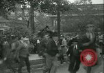 Image of Labor strike workers clash with police Wyomissing Pennsylvania USA, 1936, second 33 stock footage video 65675022415