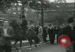 Image of Labor strike workers clash with police Wyomissing Pennsylvania USA, 1936, second 34 stock footage video 65675022415