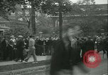Image of Labor strike workers clash with police Wyomissing Pennsylvania USA, 1936, second 36 stock footage video 65675022415