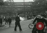 Image of Labor strike workers clash with police Wyomissing Pennsylvania USA, 1936, second 39 stock footage video 65675022415