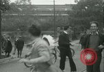 Image of Labor strike workers clash with police Wyomissing Pennsylvania USA, 1936, second 40 stock footage video 65675022415