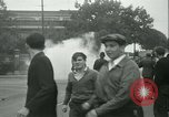 Image of Labor strike workers clash with police Wyomissing Pennsylvania USA, 1936, second 44 stock footage video 65675022415