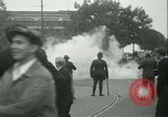 Image of Labor strike workers clash with police Wyomissing Pennsylvania USA, 1936, second 45 stock footage video 65675022415