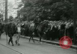 Image of Labor strike workers clash with police Wyomissing Pennsylvania USA, 1936, second 46 stock footage video 65675022415