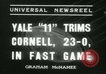 Image of Yale versus Cornell football New Haven Connecticut USA, 1936, second 3 stock footage video 65675022419