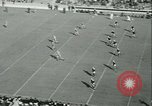 Image of Notre Dame versus Carnegie Tech football South Bend Indiana USA, 1936, second 11 stock footage video 65675022420
