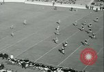 Image of Notre Dame versus Carnegie Tech football South Bend Indiana USA, 1936, second 13 stock footage video 65675022420