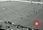 Image of Notre Dame versus Carnegie Tech football South Bend Indiana USA, 1936, second 15 stock footage video 65675022420