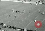 Image of Notre Dame versus Carnegie Tech football South Bend Indiana USA, 1936, second 20 stock footage video 65675022420