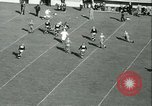 Image of Notre Dame versus Carnegie Tech football South Bend Indiana USA, 1936, second 31 stock footage video 65675022420