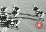 Image of Notre Dame versus Carnegie Tech football South Bend Indiana USA, 1936, second 34 stock footage video 65675022420