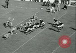 Image of Notre Dame versus Carnegie Tech football South Bend Indiana USA, 1936, second 51 stock footage video 65675022420