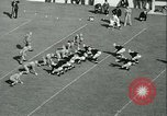 Image of Notre Dame versus Carnegie Tech football South Bend Indiana USA, 1936, second 52 stock footage video 65675022420