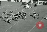 Image of Notre Dame versus Carnegie Tech football South Bend Indiana USA, 1936, second 54 stock footage video 65675022420