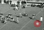 Image of Notre Dame versus Carnegie Tech football South Bend Indiana USA, 1936, second 55 stock footage video 65675022420